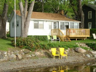 HONEOYE  LAKE - Reserve Your 2018  Vacation at  a  Cozy Lakefront Cottage