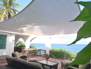 Caribbean Oceanfront Private 3BR - Incredible Views