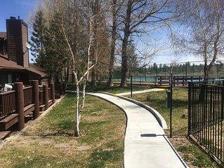Bay Shore Ski and Racquet Resort. Lakefront Condo