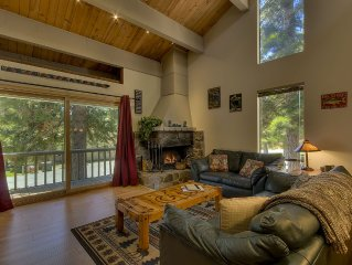 Kingsuite: 4  BR, 2  BA Townhouse in Kings Beach, Sleeps 9