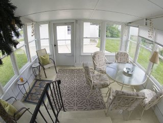 Cape May Beach Cottage, quiet, private & perfect for families. Large corner lot.