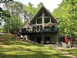 Recently Updated, Custom-Built Waterfront Home On Lake Oconee