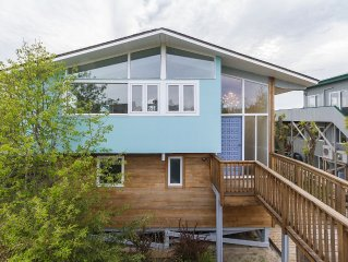 Stunningly Renovated Modern Home, Only 400' from the Beach!