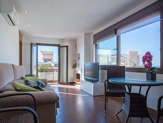 Moderno apartamento con vistas al mar en la Colonia de Sant Jordi