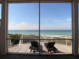 4 BR's all Gulf-front views, private boardwalk,Coveted north cape location