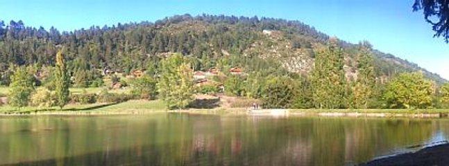 Panoramique lac Belcaire