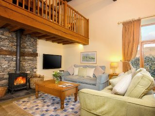 Gorgeous barn & setting just 10 minute drive to Windermere, dogs welcome
