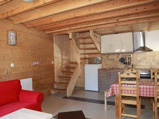 Huez, Alpe d'Huez. Au coeur du village, charmante maison  fraichement renovee