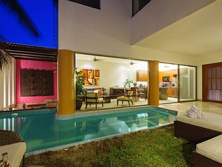 Fun-filled Yucatecan home base for families, groups