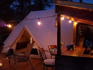 Sibley Bell Tent 2 *The EvansCliff, Beautiful Canyon High-rise deck
