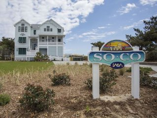 Gorgeous, Brand New, 8 Br Oceanfront Home, No mandatory 7 night Stay