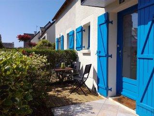 Maison au bord de mer en Bretagne proche de la plage, des commerces et du Golfe