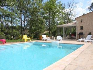 Maison provençale sur grand terrain de 7200m2 avec piscine 10x5