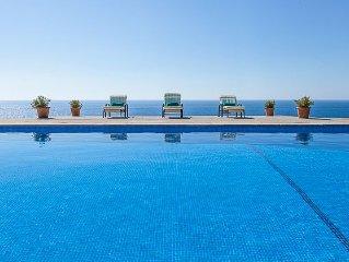 4 habs, vistas a Cala Murada y gran terraza exterior con piscina