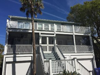 Luxury 6-BR Home.  Perfect Vacation Destination! Steps to Beach, Center Street