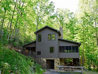 Swinging Beds on Porch+3decks, Hot Tub, Pooltable, Fresh Eggs, 15 min to Ashevi