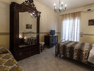 Appartamento con piscina, parcheggio vicino Scavi di Pompei, Napoli, Sorrento.