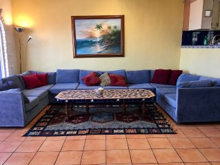 See sunsets and dolphins in secure, serene Casa Delfin - Las Gaviotas Community