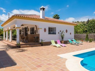 Rural House Vacation in Andalusia Spain, Coin (Malaga - Costa del Sol), in natu