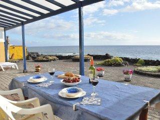 El Remo: Traumhaus am Meer mit Panoramablick auf den Atlantik und auf El Hierro