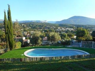 Villa spacieuse 20mn mer - Splendide vue Montagne