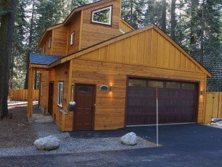 Lake Tahoe W. Shore Cabin, Tahoe Pines/Homewood, Sleeps 8-10, Hottub, Wifi, Cabl
