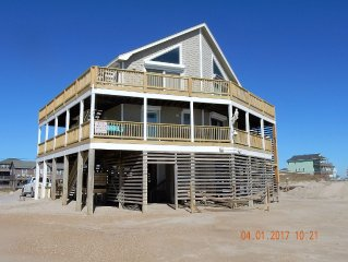Ocean Front,Outer Banks, Rodanthe, Pet-Friendly,4BR, 3BA,Beach front