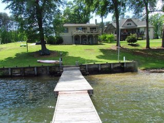 Amazing, large updated lake front home ready for your vacation get-a-way