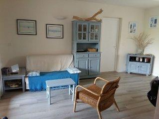 Agréable villa dans résidence calme très fleurie avec piscine et tennis