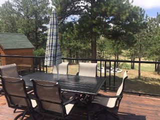 Close to A.F.A., Colorado Springs, Denver - Beautiful Mountain Home In The Woods