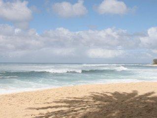 Spacious,tropical,1 bedroom fully furnished  beachside retreat sleeps 2