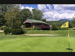Renovated luxury Jackson NH Wentworth Condo Best Location ski/golf out door! A/C