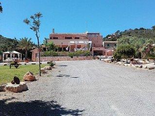 Can Trobat Casa con Piscina y Bar cerca de playas y golf