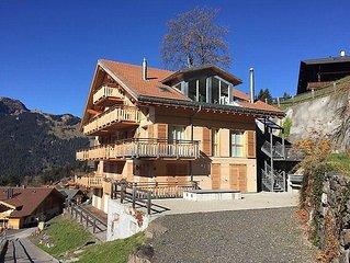 Apartment Schwarzbirg  in Wengen, Bernese Oberland - 6 persons, 3 bedrooms