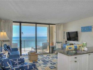 Ocean Forest 1107- Ocean Front: 1 BR / 1 BA condo in Myrtle Beach, Sleeps 4