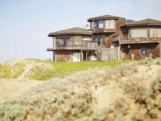 Sand Castle on the Beach!  Ocean and Sand