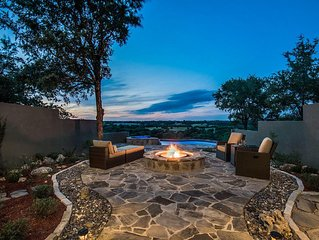 Relax and Enjoy the Views of the Hill Country High Above the Guadalupe River