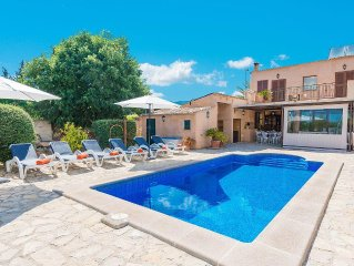 ES CASTELL - Villa for 6 people in Alaro.