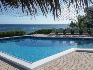 Direct Oceanfront, First Floor on the Beach, Quiet and Secluded Rum Point area