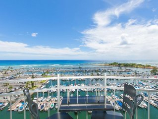 Spectacular Oceanfront - Ilikai Marina