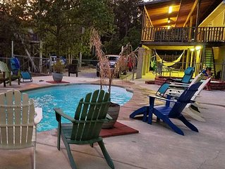Private POOL, Sleeps 16 Amazing River Front Home - SUMMER Rates Reduced!