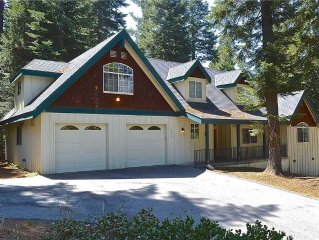 Bear Foot Mountain: 4 BR / 3 BA  in Shaver Lake, Sleeps 10
