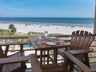 Luxury Oceanfront Penthouse--Unforgettable Views from Spacious, Gorgeous Villa!