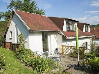 Detached holiday house in beautiful Emsetal in the middle of the Thuringian For