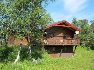 Vacation home Funasdalen  in Tanndalen, Northern Sweden - 8 persons, 3 bedrooms