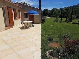 Villa 75m2 en pleine nature  dans le parc de La Sainte Baume