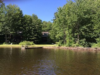 Serene, Private Waterfront House --Perfect Summer Retreat!
