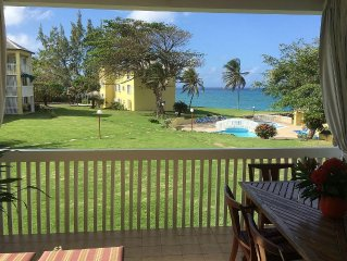 Tranquil seaside holiday apartment near Ocho Rios, Jamaica