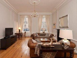 Luxury Georgian apartment in the City Centre Edinburgh