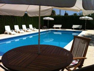 SANTA POLA ELCHE, ALICANTE Chalet Villa: Piscina-Parking 100% privacidad